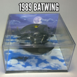 Batman Automobilia collection Eaglemoss 1989 Movie Batwing @sold@